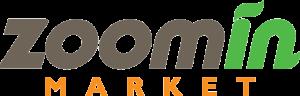 Zoomin Market logo design by ziv