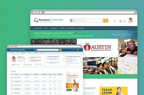Teacher teachers user experience ux design by ZIV
